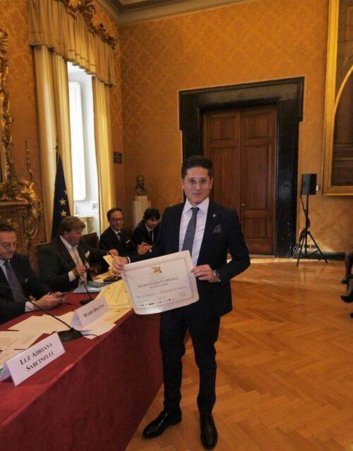 Premiazione Leone d'oro Venezia vigne ambrosio